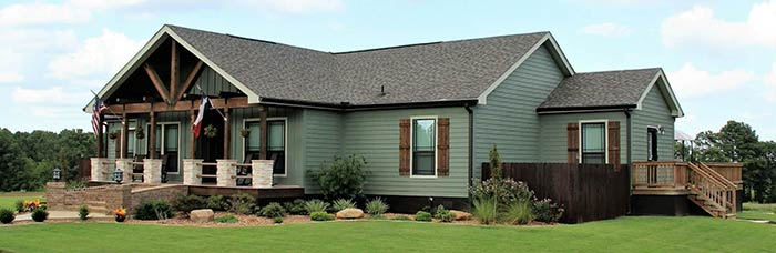 Exterior of house model Koinonia from Pratt Homes