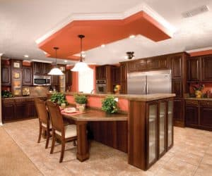 Jones Modular Home kitchen made by Pratt