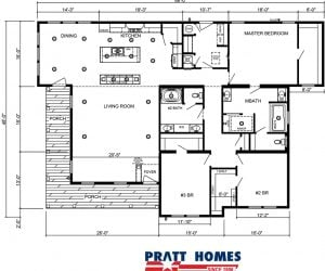 Pratt Homes draft for home model Sequoia