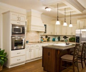 Sequoia Modular Home kitchen appliances