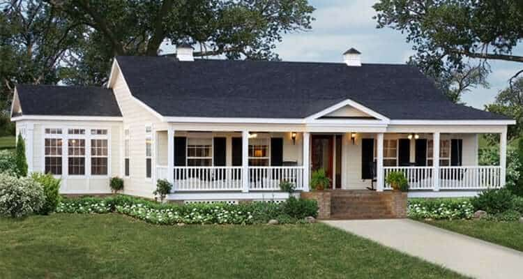 Exterior of house model Willow from Pratt Homes