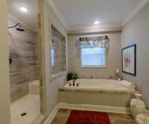 Master bathroom from house model King