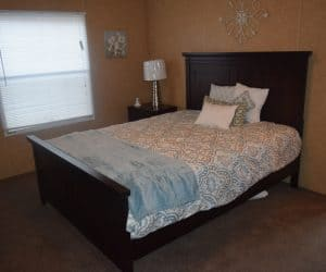 Bedroom from the house model 1676C from Pratt Homes offer