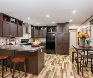 Kitchen of the house model 1676G from Pratt Homes offer
