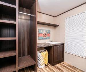 Mud Room of the house model 1676G from Pratt Homes offer