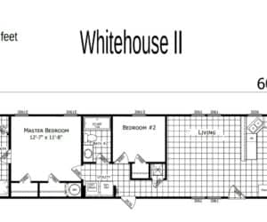 Floor Plan from Pratt Homes model WhiteHouse 2