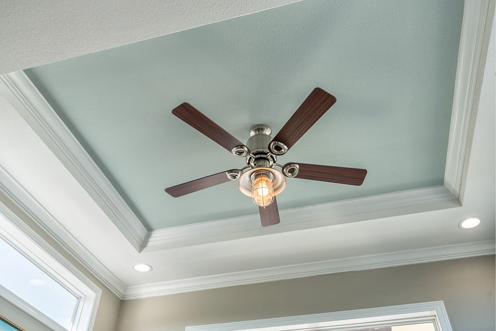 Ceiling detail from house model APH-536