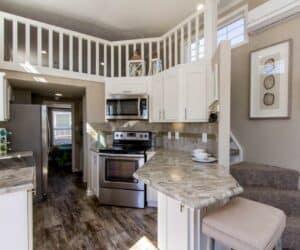 Kitchen of house Beachview made by Pratt