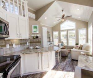 Furnished Kitchen of house Beachview made by Pratt