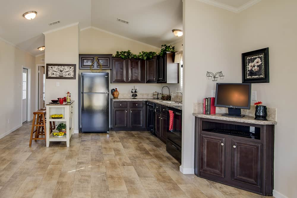 Kitchen area of house model CC1207