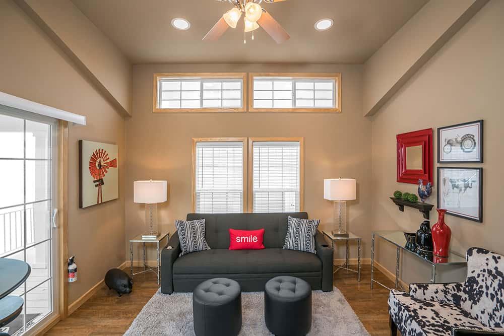 Living Room from the house model Innsbruck made by Pratt