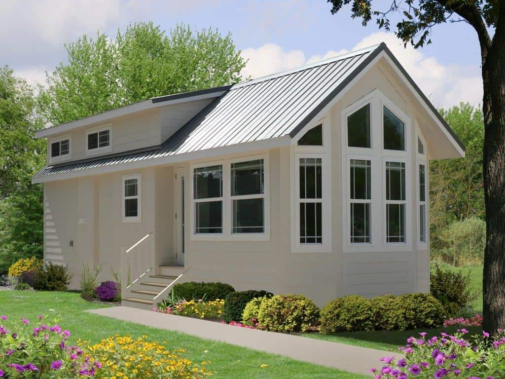 Home model Trinca with lapped siding
