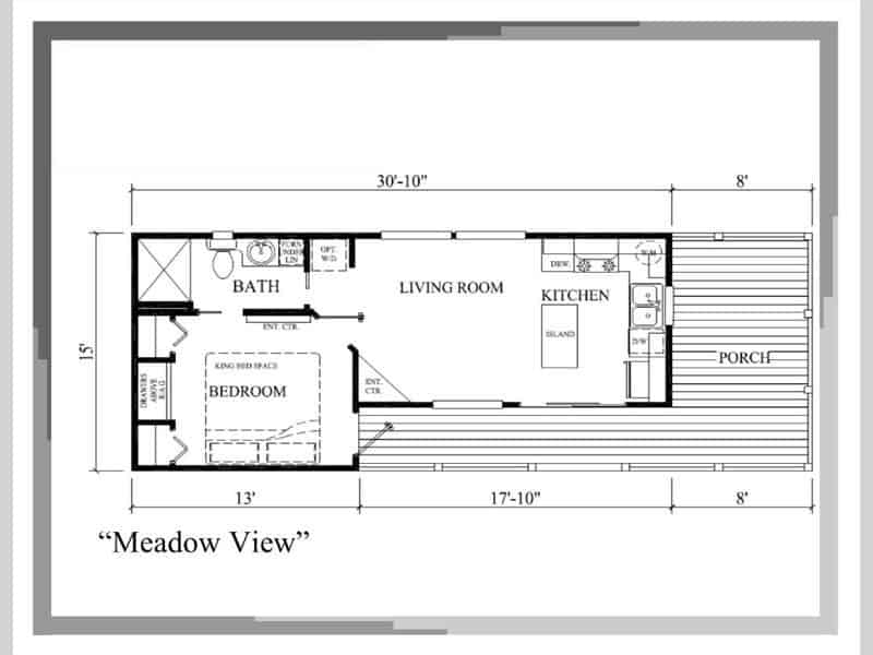 Floor Plan from house model Meadowview made by Pratt