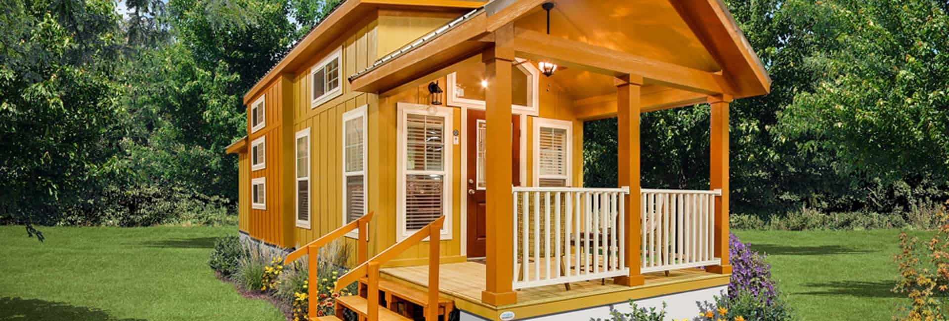 Tiny Houses are portability, functionality, and luxury