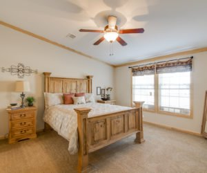 Master Bedroom from house model Lodge