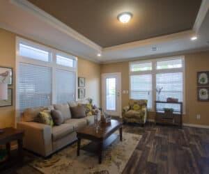 Living Room from house model Teresa made by Pratt