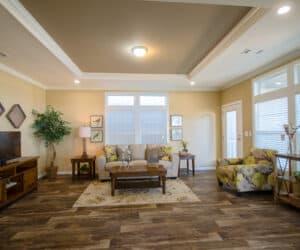 Living Room from house model Teresa