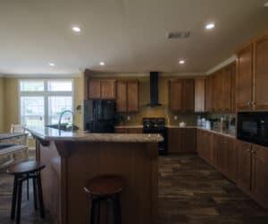 Kitchen from house model Teresa made by Pratt Homes