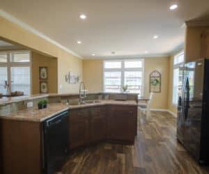 Kitchen from house model Teresa