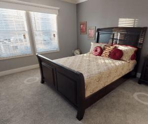 Bedroom from house model Madelynn made by Pratt