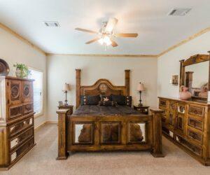 Bedroom from Pratt Homes Wooden Model Lodge 3
