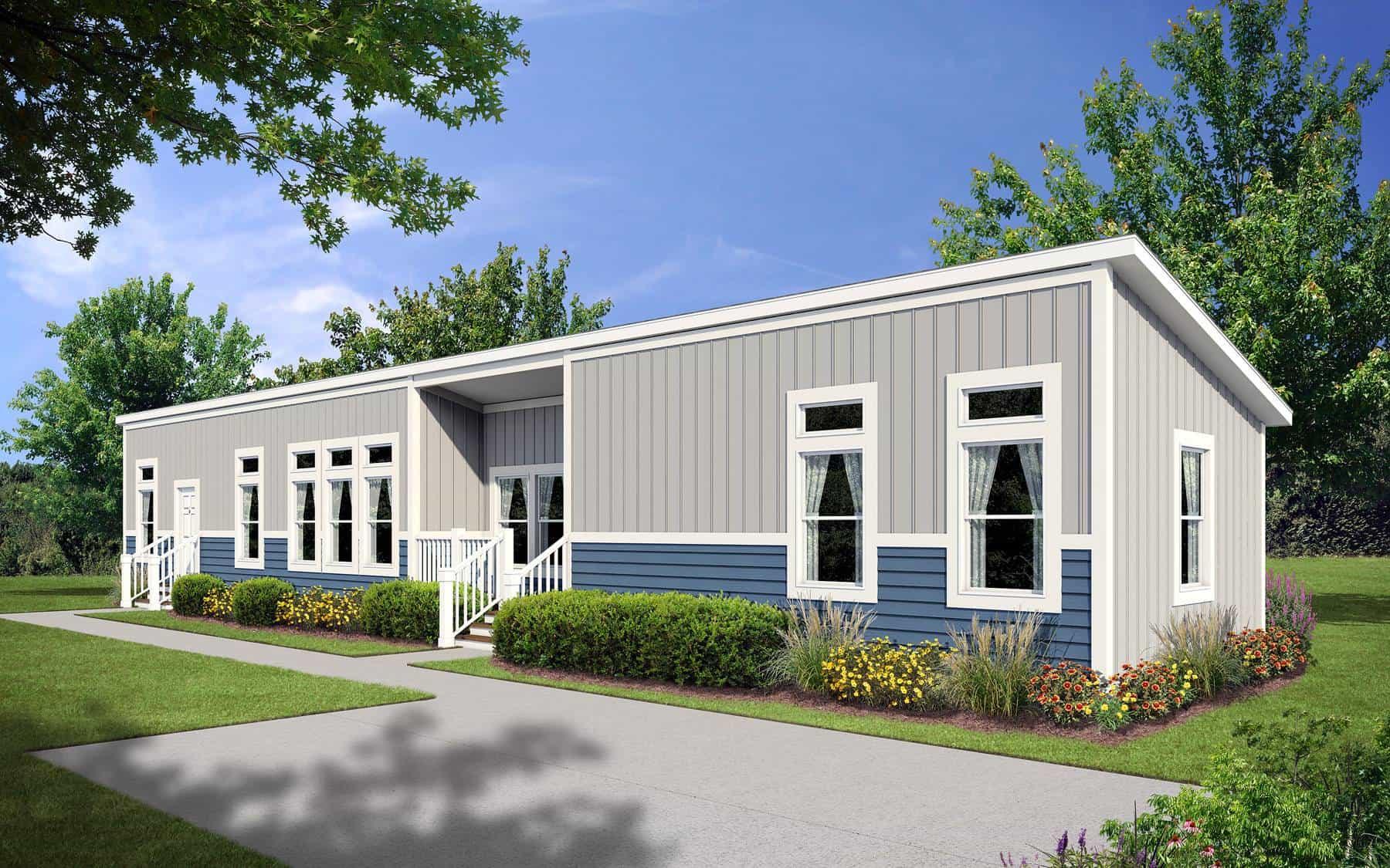 Monoslope Roof Design B Pratt Homes