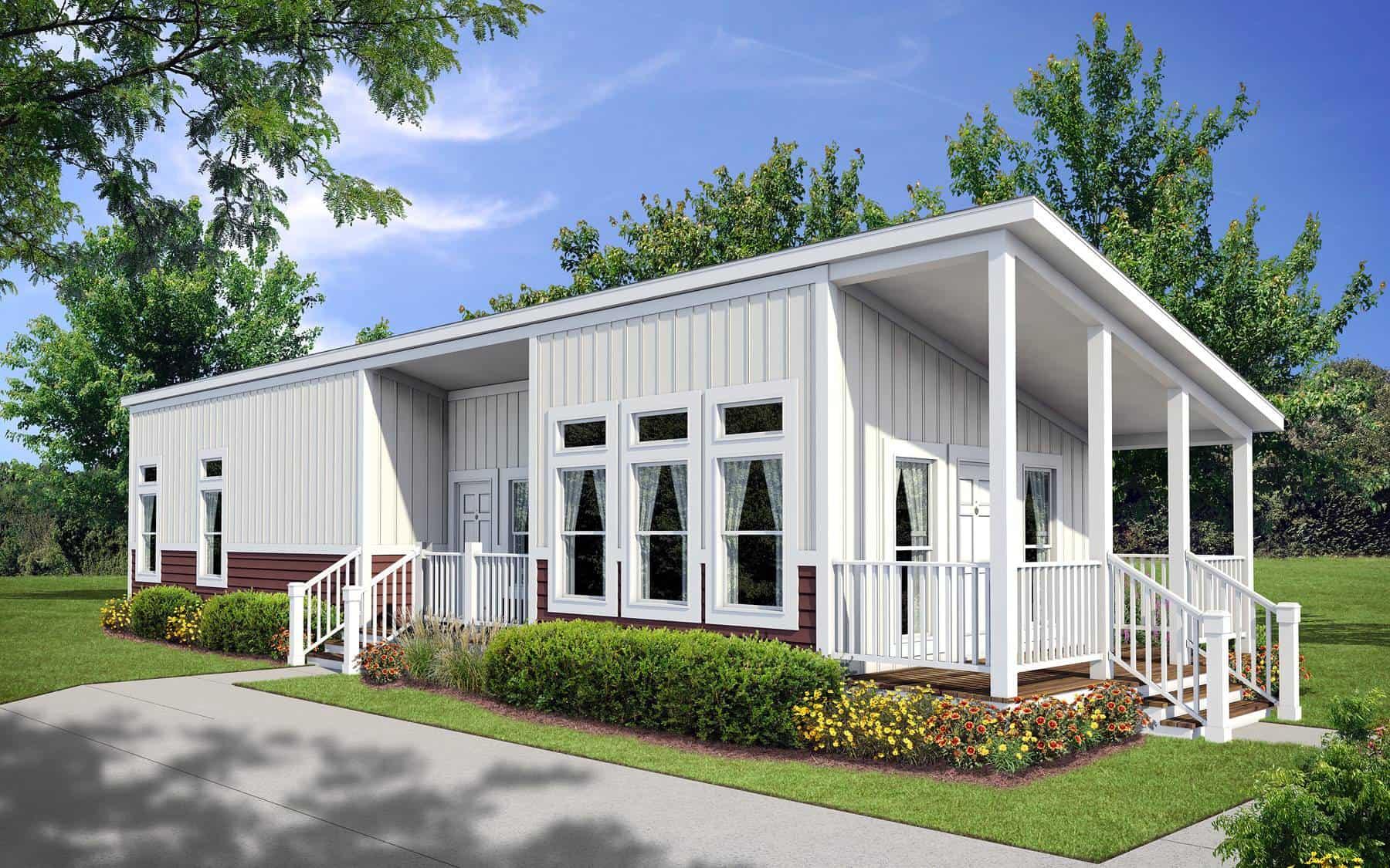 Monoslope Roof Design A Pratt Homes