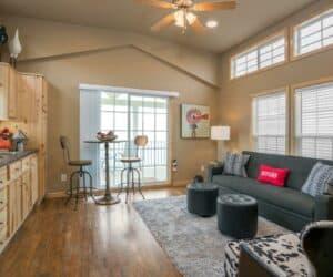 Living Room of house Farm Bliss made by Pratt