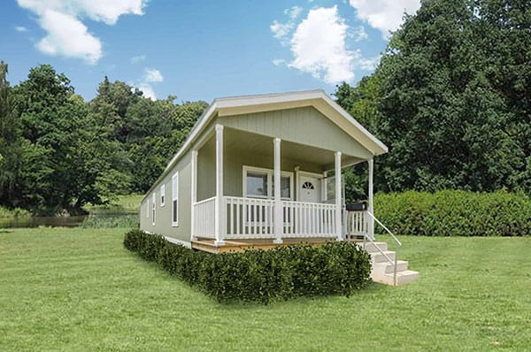 Exterior of house model Jordan from Pratt Homes