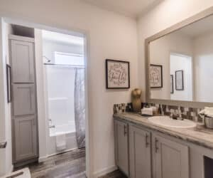 Bathroom from house model Ranch