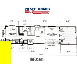 Plan for home model Joann