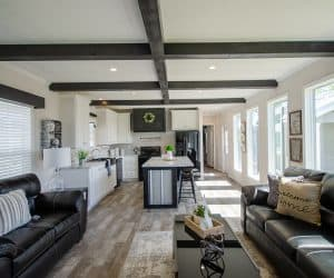 Living area from home model Estes