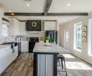 Kitchen with all elements from home model Estes