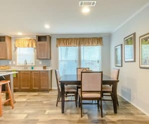 Furnished dining room from home model Tiffany