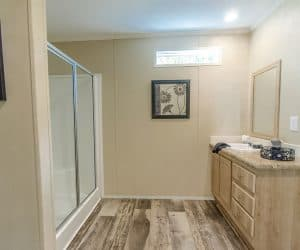 Spacious bathroom in pastel tones - Brittany Master Bath