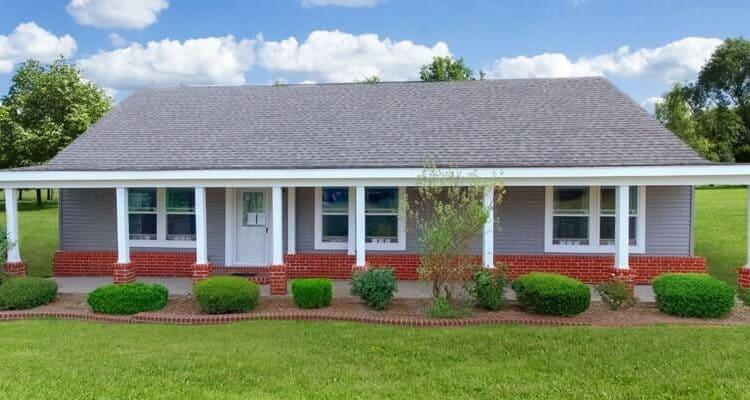 Exterior of house model Offset 2 from Pratt Homes