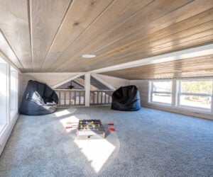 Loft in Modular Home model Grande
