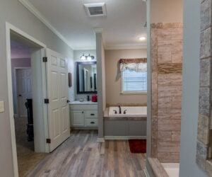 Master Bathroom from Modular Home Sequoia V2