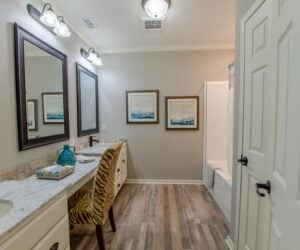 Guest Bathroom from Modular Home Sequoia V2