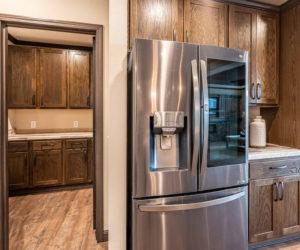 Kitchen in the house model Melissa from Pratt homes in Tyler
