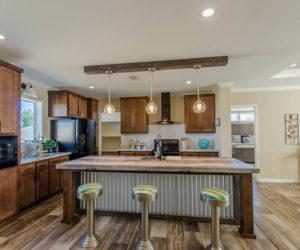 kitchen details in the modular home Reyenga made by Pratt Homes
