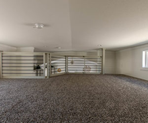 Loft in the modular home Tumbleweed made by Pratt Homes