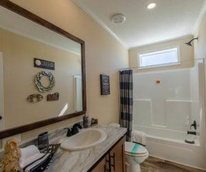 bathroom in the modular home Reyenga made by Pratt Homes