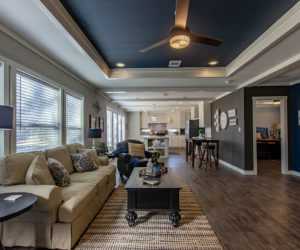 living room view in the house model big spur made by pratt homes tyler texas