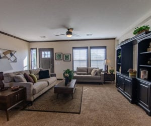 livinr room space in house model double offset made by pratt homes tyler texas