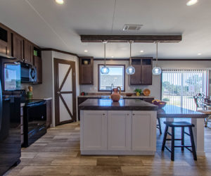 kitchen view of the house model leo made by pratt homes tyler texas