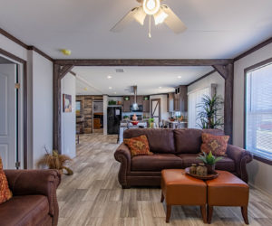 living room of the house model leo made by pratt homes tyler texas