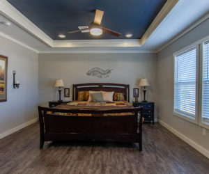main bedroom in the house model big spur made by pratt homes tyler texas