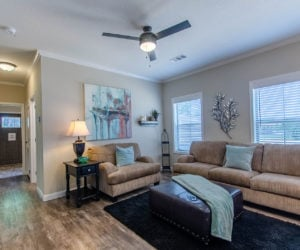 family room at the bailey house made by pratt homes tyler tx