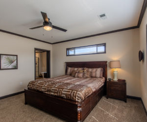master bedroom in house model double offset made by pratt homes tyler texas